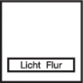 Berker Integro FLOW Rahmen mit Klappdeckel, polarweiß glänzend (919882502)