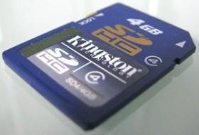Kingston SDHC 4GB, Class 4 (SD4/4GB)