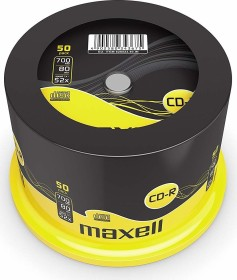 Maxell CD-R 80min/700MB 52x, Spindle, 50-pack (628523)