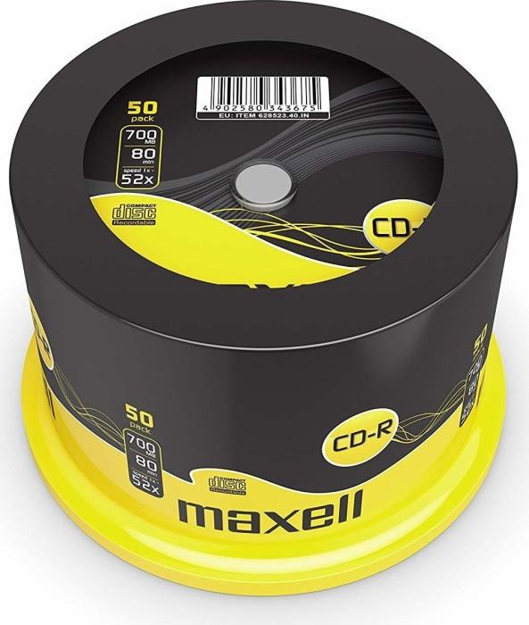 Maxell CD-R 80min/700MB, sztuk 50 -- via Amazon Partnerprogramm