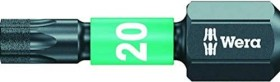 Wera 867/1 IMP DC Impaktor Torx bit T20x25mm, 1-pack (05057624001)