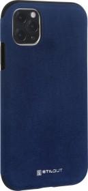 Stilgut Alcantara Cover für Apple iPhone 11 Pro Max blau (B08292KVB4)
