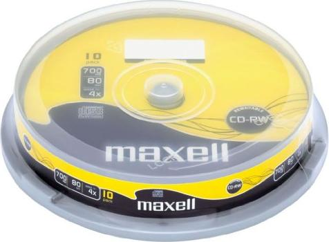 Maxell CD-RW 80min/700MB, sztuk 10 (626000) -- via Amazon Partnerprogramm