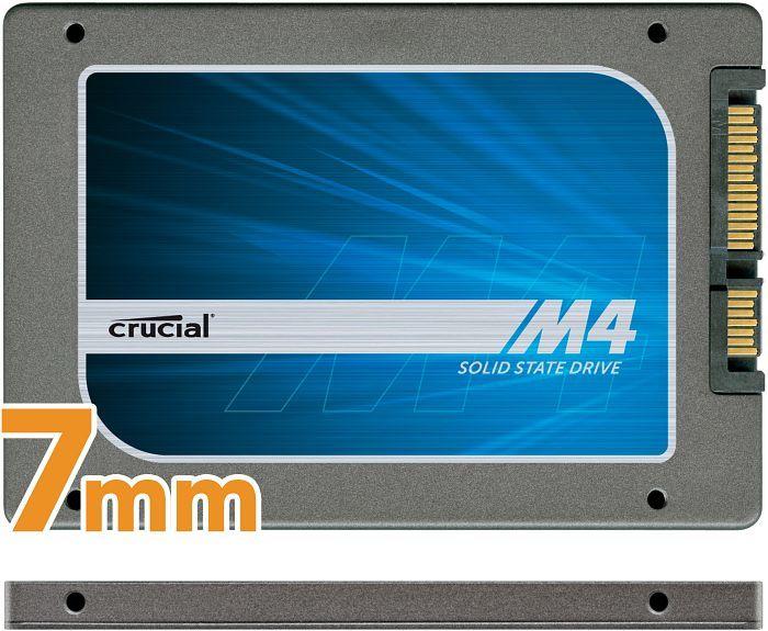 Crucial m4 Slim 256GB, SATA (CT256M4SSD1)