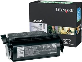Lexmark 12A5845 Return Toner black high capacity
