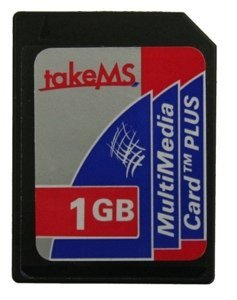 takeMS MultiMedia Card (MMCplus) Plus 2GB (MS2048MMC-MM3)