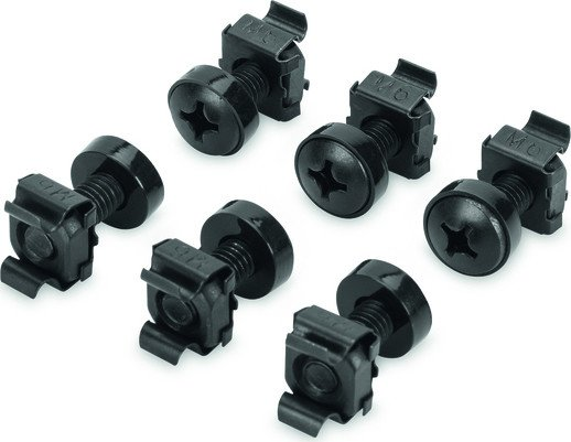 "Digitus Professional mounting kit for 19"" cabinet black, 50 pieces (DN-19 SET)"