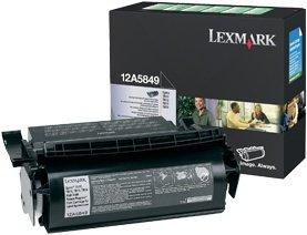 Lexmark Return Etiketten Toner 12A5849 schwarz
