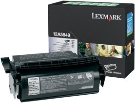 Lexmark 12A5849 Return labels Toner black