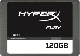 Kingston HyperX Fury SSD 120GB, SATA (SHFS37A/120G)