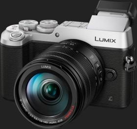 Panasonic Lumix DMC-GX8 silber mit Objektiv Lumix G Vario 14-140mm 3.5-5.6 ASPH OIS (DMC-GX8H)