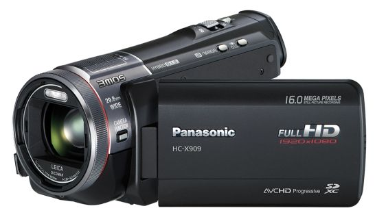 Panasonic HC-X909 black (digital)