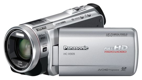 Panasonic HC-X909 silver (digital)