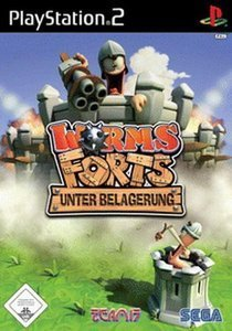 Worms Forts: Unter Belagerung (German) (PS2)