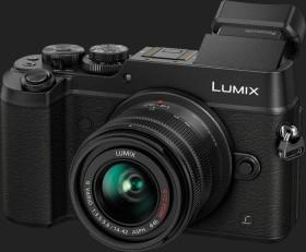 Panasonic Lumix DMC-GX8 schwarz mit Objektiv Lumix G Vario 14-42mm 3.5-5.6 II ASPH OIS (DMC-GX8K)
