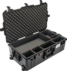 Peli Air case 1615 Protective case with TrekPak compartment division black (1615TP)