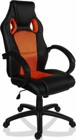 Maxstore Racemaster GS Series Gamingstuhl, schwarz/orange (40040318a)