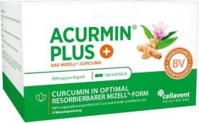 Cellavent Acurmin PLUS - Das Mizell-Curcuma Kapseln, 180 Stück