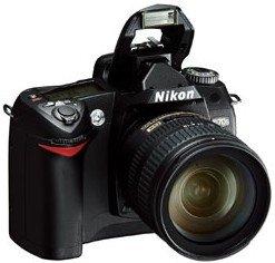 Nikon D70s schwarz mit Objektiv AF 28-80mm 3.3-5.6G (VBA110C1/VBA110KG09)