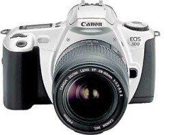 Canon EOS 300V (SLR) z obiektywem innej marki