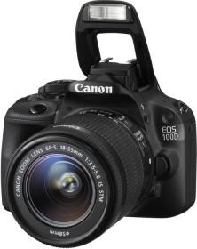 Canon EOS 100D schwarz mit Objektiv Fremdhersteller