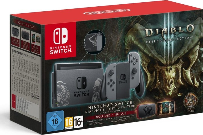 Nintendo Switch - Diablo 3: Eternal Collection Bundle schwarz/grau