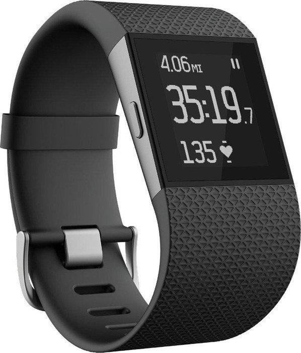 Fitbit Surge Large GPS-clock black (FB501BKS)