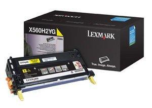 Lexmark Toner X560H2YG gelb hohe Kapazität