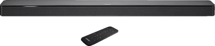 Bose Soundbar 500 schwarz -- via Amazon Partnerprogramm