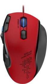 Speedlink Scelus Gaming Mouse red/black, USB (SL-680004-BKRD)