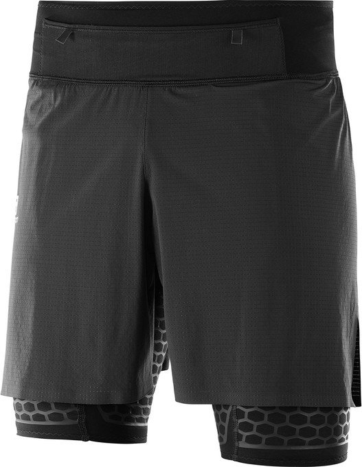 Salomon Exo Twinskin short running pants short black (men) (400690)