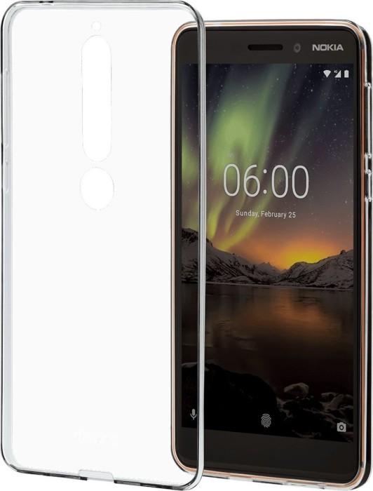 Nokia CC-102 Slim Crystal Cover für Nokia 6.1 transparent (1A21RSD00VA)