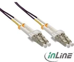 InLine LWL Duplex Kabel, OM4, 2x LC Stecker/2x LC Stecker, 7.5m (88547P)