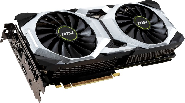 MSI GeForce RTX 2080 Ventus 8G OC, 8GB GDDR6, HDMI, 3x DP, USB-C (V372-007R)