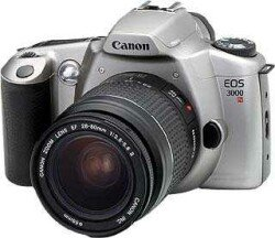 Canon EOS 3000N (SLR) with lens EF 28-80mm and EF 80-200mm