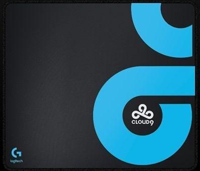 Logitech G640 Cloth Gaming mousepad, Cloud 9 Edition (943-000077)