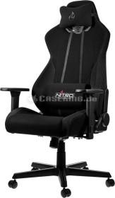 Nitro Concepts S300 Stealth Black Bürostuhl, schwarz (NC-S300-B)