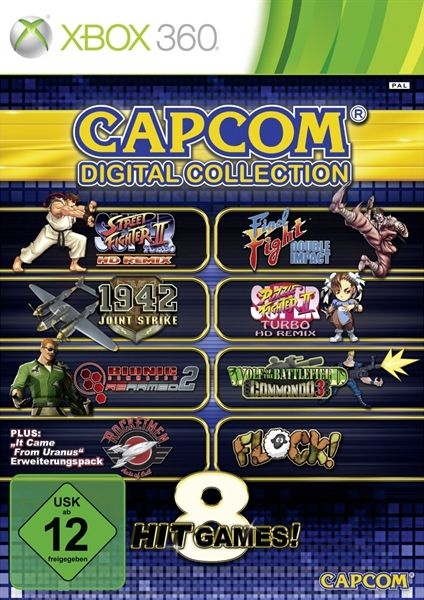 Capcom digital Collection (German) (Xbox 360)