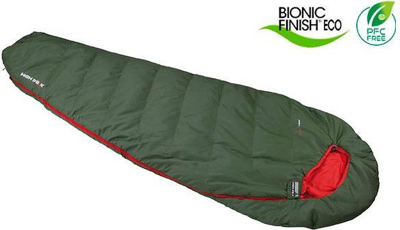 High peak Pak 600 mummy sleeping bag -- via Amazon Partnerprogramm