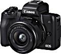 Canon EOS M50 schwarz mit Objektiv EF-M 15-45mm 3.5-6.3 IS STM (2680C012)