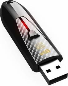Silicon Power Blaze B25 schwarz 16GB, USB-A 3.0 (SP016GBUF3B25V1K)