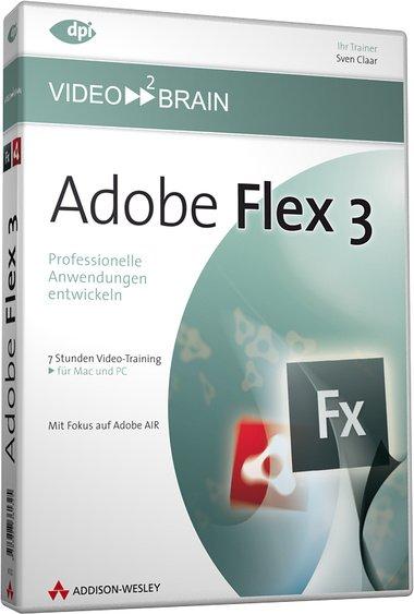 video2brain: Flex 3 (German) (PC/MAC)