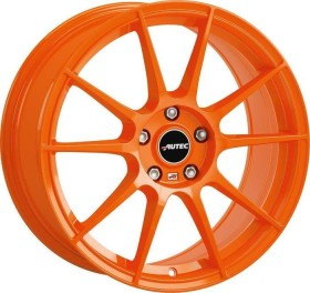 Autec type W Wizard 7.5x17 5/108 orange (various types)