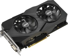 ASUS Dual GeForce GTX 1660 SUPER Advanced Evo, DUAL-GTX1660S-A6G-EVO, 6GB GDDR6, DVI, HDMI, DP (90YV0DS4-M0NA00)