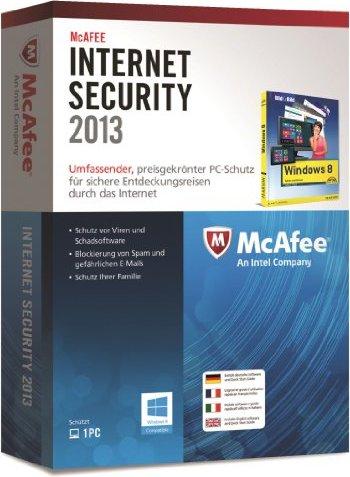 McAfee: Internet Security 2012, 1 User (deutsch) (PC) -- via Amazon Partnerprogramm