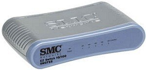 SMC EZ Connect SMCFS5, 5-Port