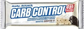 Body Attack Carb Control Proteinriegel white Cookie-O 1.5kg (15x 100g)