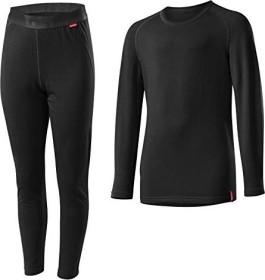 Löffler Transtex Warm Shirt und Hose Set lang schwarz (Junior)