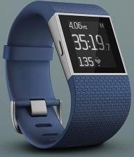 Fitbit Surge Large GPS-clock blue (FB501BKS)