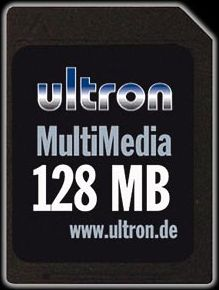 Ultron MultiMedia Card (MMC) 128MB (4957)